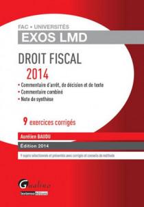 [EBOOK] Exos LMD - Droit fiscal 2014