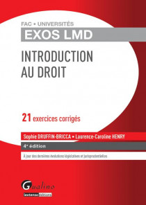 [EBOOK] Exos LMD - Introduction au droit