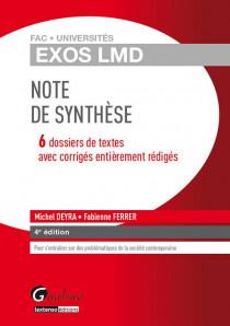 [EBOOK] Exos LMD - Note de synthèse