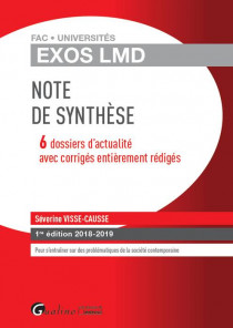 [EBOOK] Exos LMD - Note de synthèse