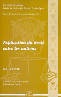 Explication du droit entre les nations (CD inclus)
