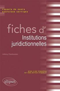 Fiches d'institutions juridictionnelles