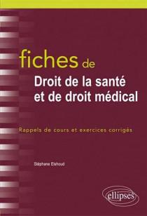 Fiches de droit de la santé et de droit médical
