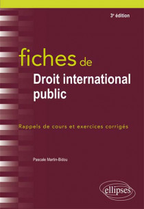 Fiches de droit international public