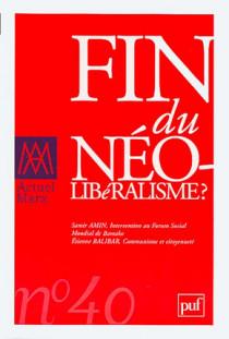 Fin du néo-libéralisme ?