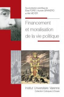 Financement et moralisation de la vie politique