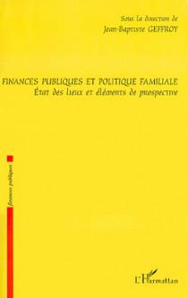 Finances publiques et politique familiale