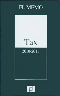 FL Memo - Tax 2010-2011
