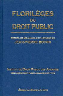 Florilèges du droit public