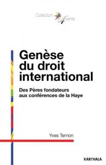 Genèse du droit international
