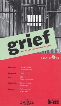 Grief, 2019 N°6/2