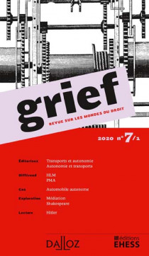 Grief, 2020 N°7/1