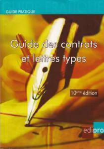 Guide des contrats et lettres types
