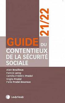 Guide du contentieux de la sécurité sociale 2021-2022