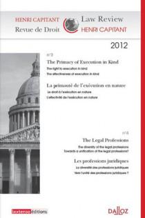 Henri Capitant - Revue de droit N°3/4 2012