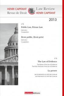 Henri Capitant - Revue de droit N°5/6 2013