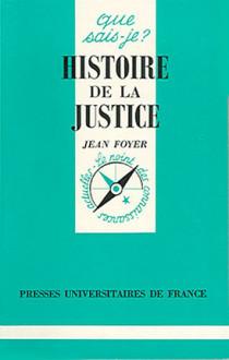Histoire de la justice