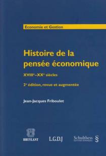Histoire de la pensée économique XVIIIe-XXe siècles