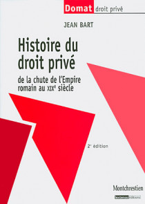 Histoire du droit privé