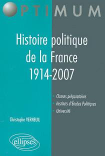 Histoire politique de la France 1914-2007