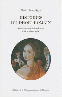 Histoires du droit romain