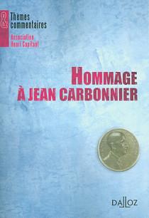 Hommage à Jean Carbonnier