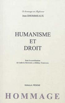 Humanisme et droit