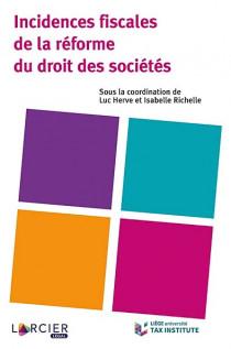 Incidences fiscales de la réforme du droit des sociétés