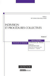 Indivision et procédures collectives
