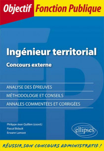 Ingénieur territorial : concours externe