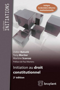 Initiation au droit constitutionnel