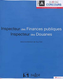 Inspecteur des finances publiques - Inspecteur des douanes