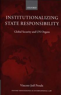 Institutionalizing State Responsability
