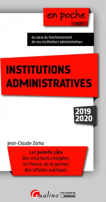 [EBOOK] Institutions administratives