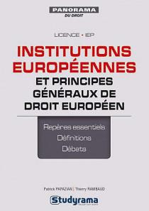 Institutions européennes et principes généraux de droit européen