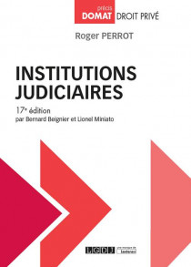 [EBOOK] Institutions judiciaires