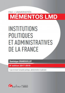 [EBOOK] Institutions politiques et administratives de la France