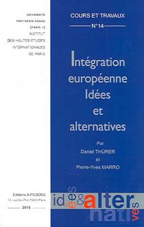 Intégration européenne - Idées et alternatives
