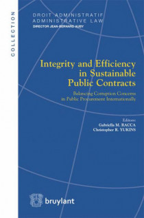 Integrity and Efficiency in Sustainable Public Contracts.