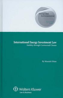 International Energy Investment Law