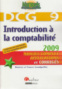 Introduction à la comptabilité - DCG 9