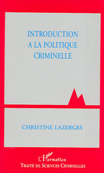 Introduction à la politique criminelle