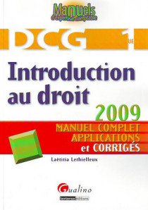 Introduction au droit - DCG 1