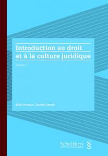 Introduction au droit et à la culture juridique