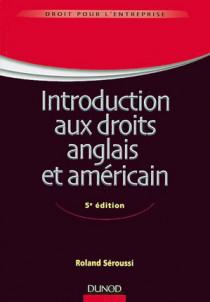 Introduction aux droits anglais et américain