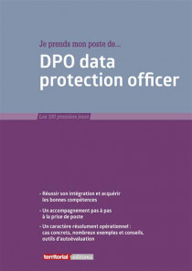 Je prends mon poste de... DPO data protection officer