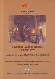 """Journées Michel Despax 2004 """"l'emploi"""""""