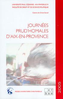 Journées prud'hommales d'Aix-en-Provence 2005