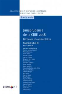 Jurisprudence de la CJUE 2018