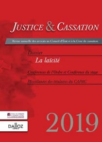 Justice & cassation 2019